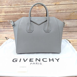 Givenchy Medium Antigona Satchel Grey
